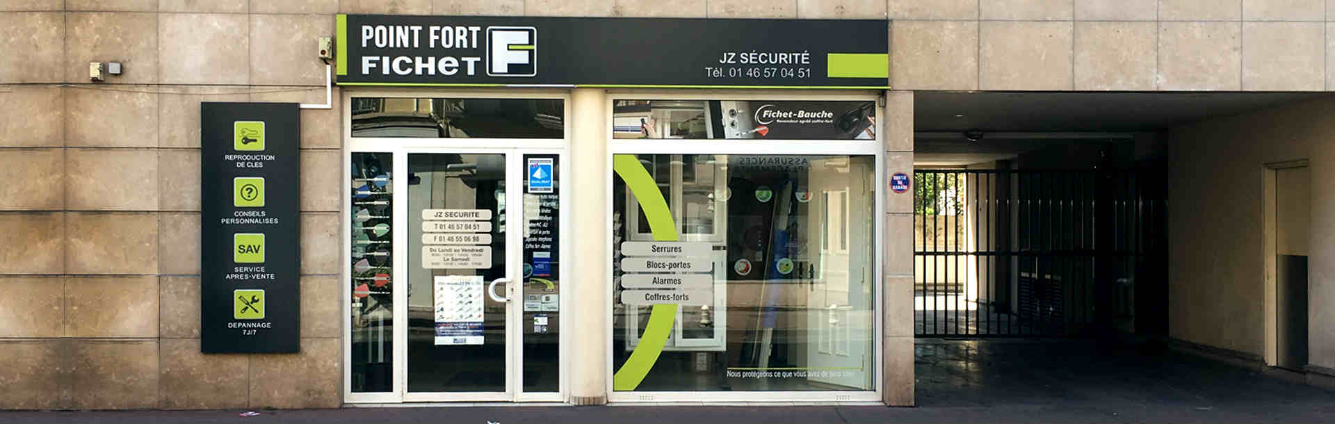 jz securite point fort fichet